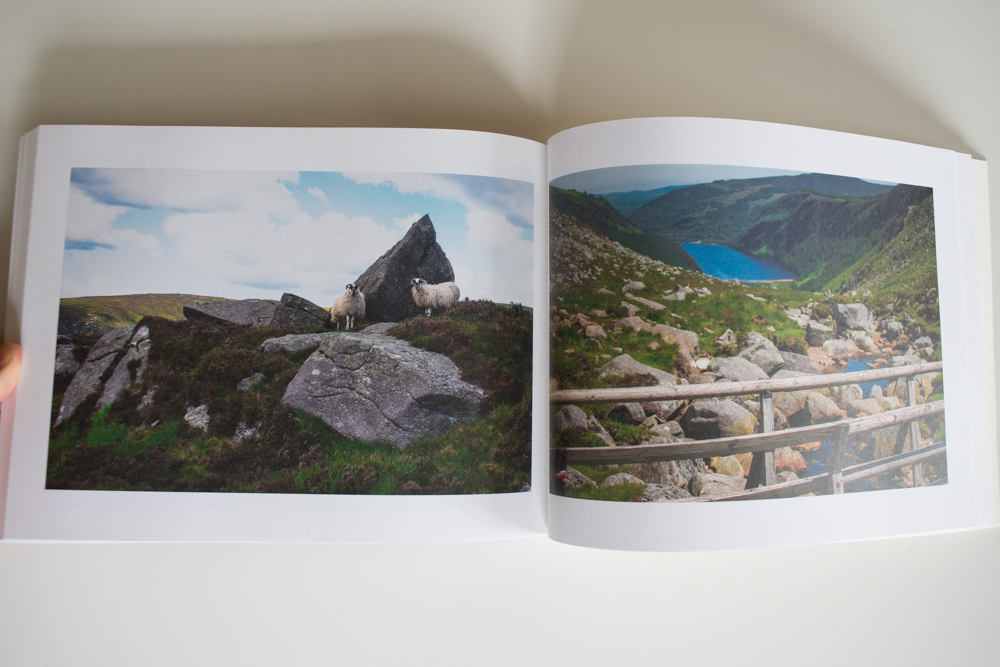 Ireland photo book Glendalough