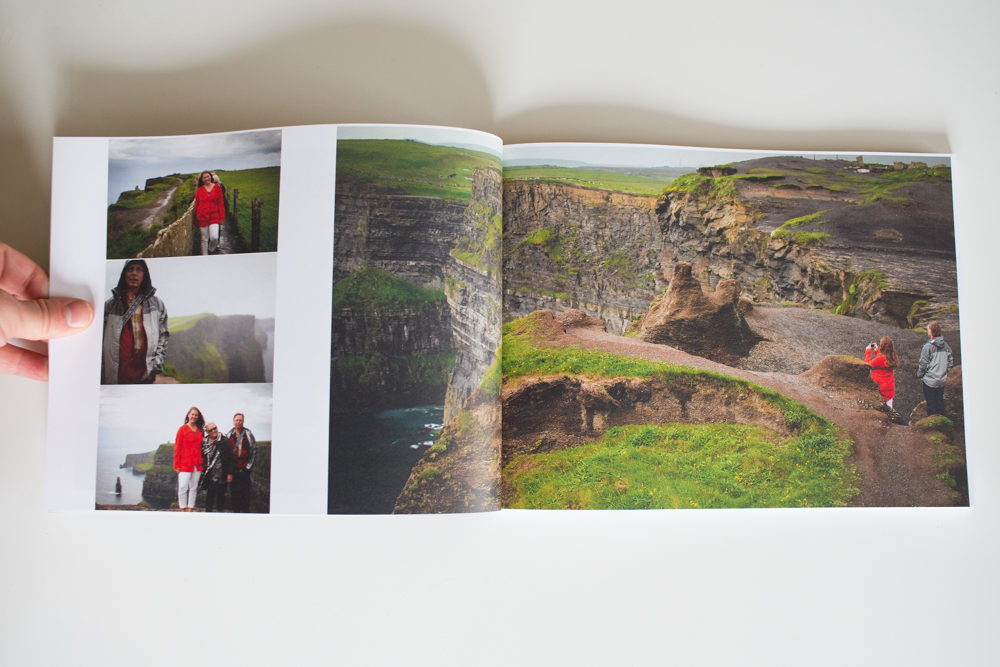 Ireland Photo Book cliffs of moher