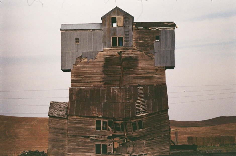 Broken Down Grain Silo/Barn