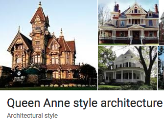 Queen Anne Style House Architecture